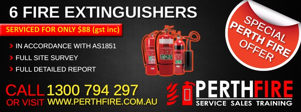 extinguisher service perth
